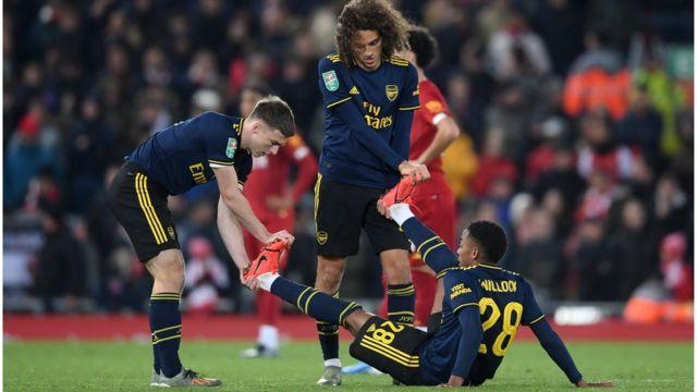 Awọn agbabọọlu Arsenal