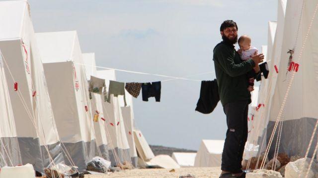 درگیریهای غوطه شرقی دهها هزار آواره به جا گذاشته است