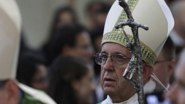 Papa Francis Bakıda