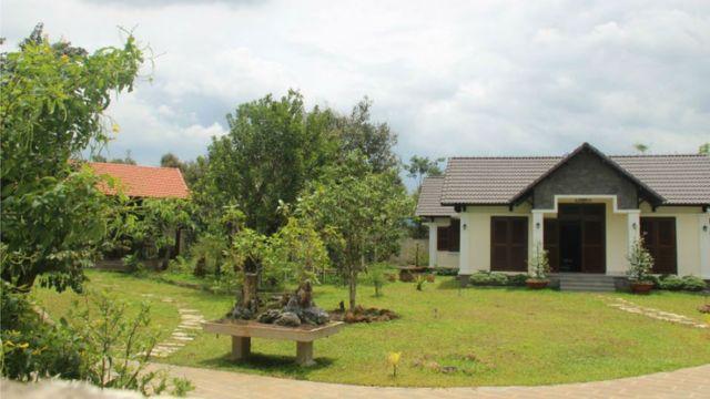 Khu biệt thự của ông Nguyễn Văn Đấu - Phó Ban Tổ chức Tỉnh ủy Đồng Nai