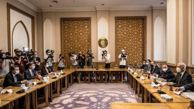 Türkiye - Mısır heyetler görüşmesi
