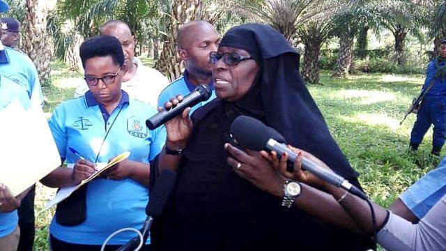 Miriam, umwe mu baserukiye abatswe amatongo