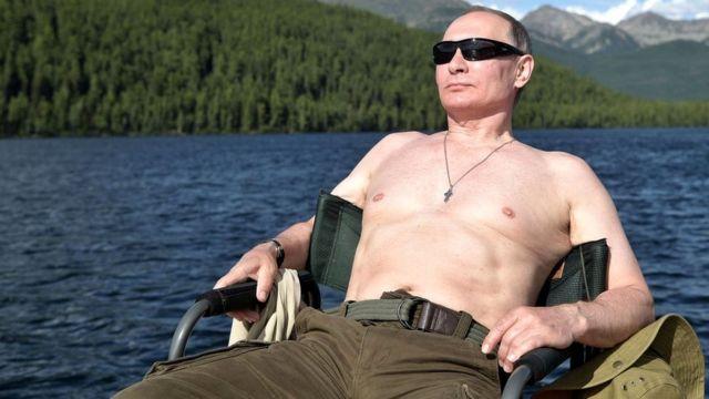 Vladimir Putin de vacaciones en Siberia
