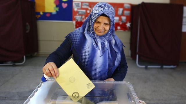 голосування у Туреччині