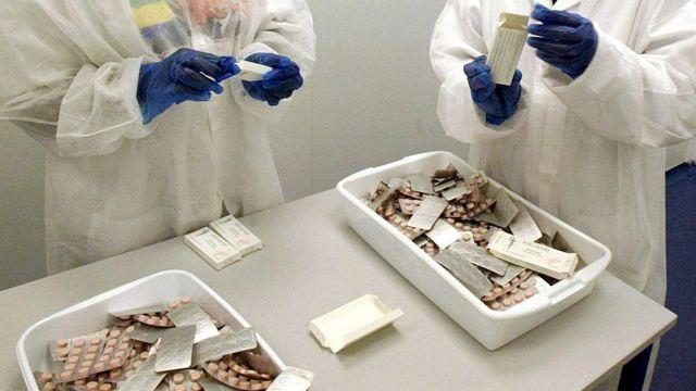 Life-saving antiretroviral drugs used to treat HIV/AIDS