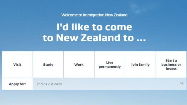 موقع الهجرة إلى نيوزيلندا