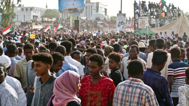 Waandamanaji Sudan