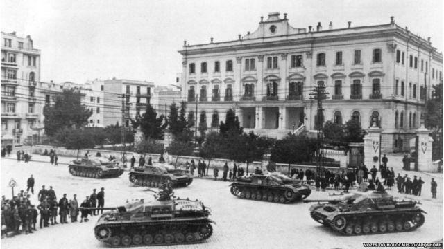 Nazistas ocupam Tessalônica em 1941