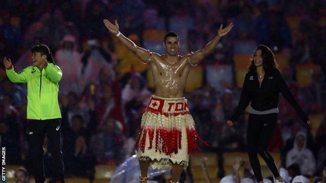 一躍有名になったトンガのテコンドー代表ピタ・タウファトファ選手も再び登場