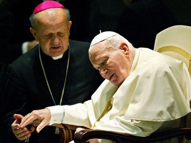 Дзивиш и Иоанн Павел II