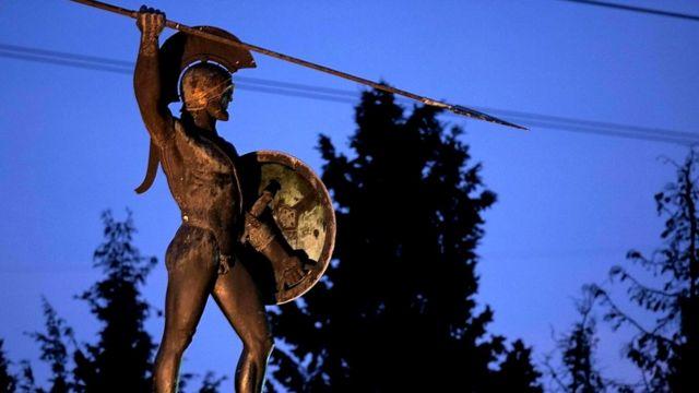 Маниоты считают, что произошли от древних спартанцев