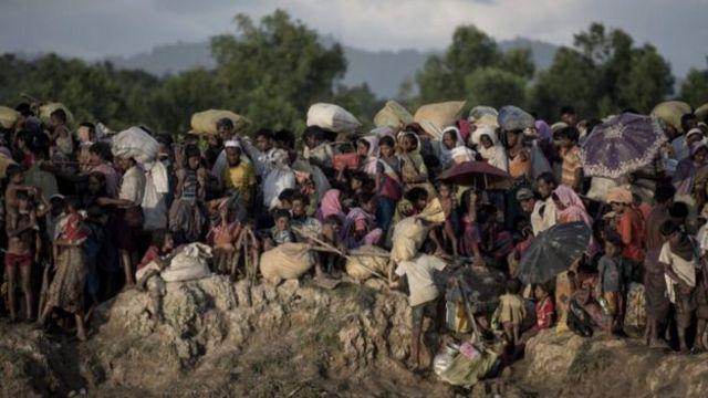 ဘင်္ဂလားဒေ့ရှ်ဘက် ထွက်ပြေးခဲ့ကြတဲ့ ရိုဟင်ဂျာ ၆ သိန်းကျော် ရှိတယ်လို့ ကုလသမဂ္ဂပြော