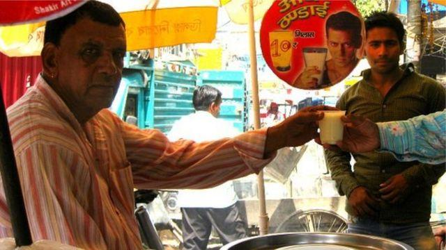 दिल्ली का एक दुकानदार