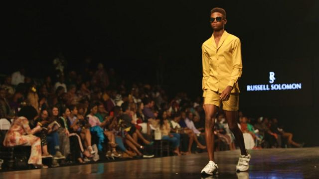 Menswear designer, Russell Solomon collection feature smart smart cloth for guys