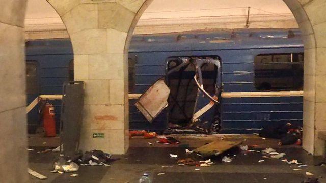 Bom nổ ở ga tàu điện ngầm Technological Institute