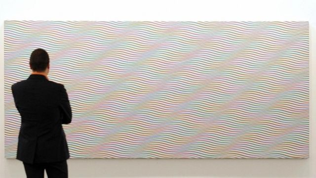 'Cataract 3' (1967), Bridget Riley