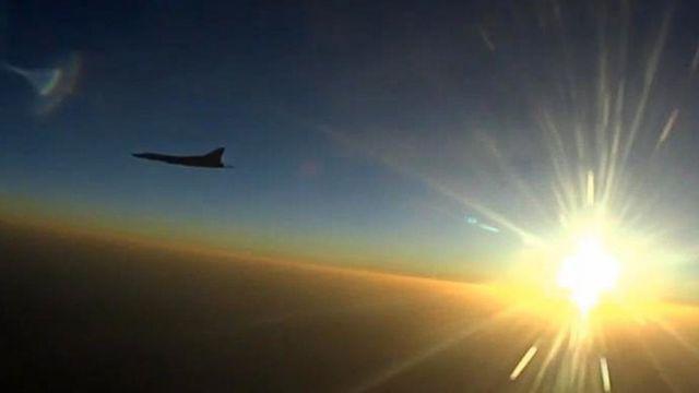 Самолет Су-22М3 на боевом вылете с иранской базы Хамадан
