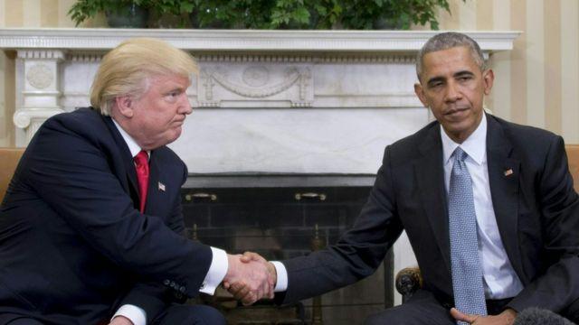 Resultado de imagen para obama biden y trump