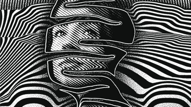 Ilustração de rosto humano