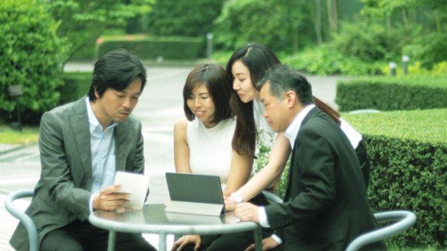 Япония - вежливая страна. Но старший всегда прав