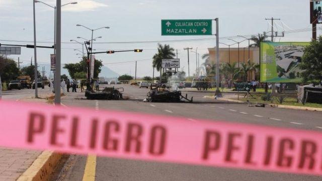 Emboscada a militares en Culiacan