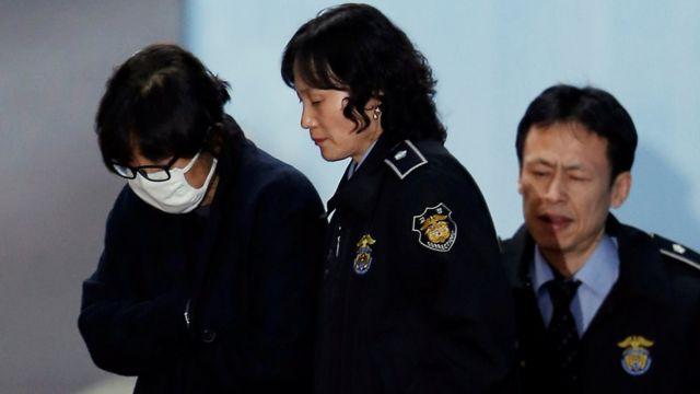 تشوي سون سيل بعد استجوابها