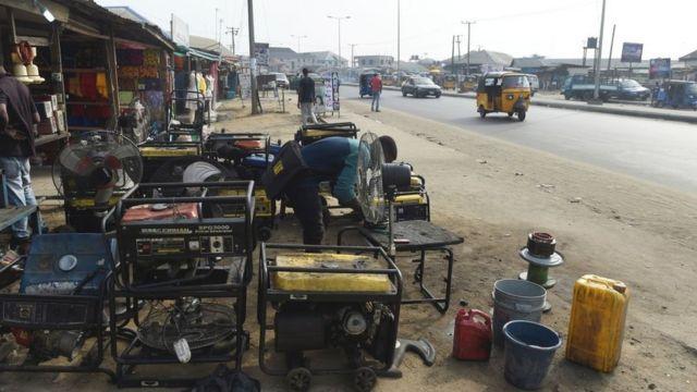Plenti generators for roadside - Lagos, Nigeria