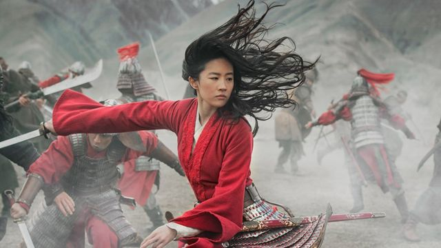 A still from Mulan