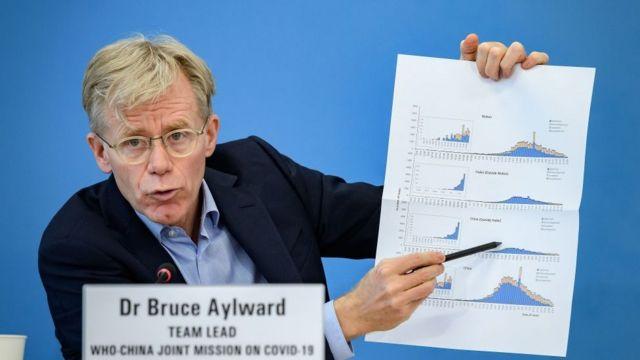 Aylward, el subdirector general de la OMS