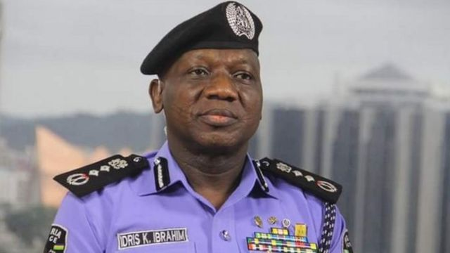 Inspector general of police don scata di Special Tactical Squad