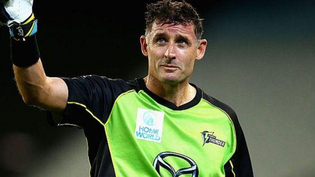 ઓસ્ટ્રેલિયન ક્રિકેટર માઈકલ હસી