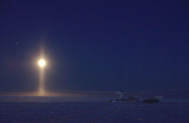 """""""Лунный прожектор, Южный полюс, Антарктида"""""""