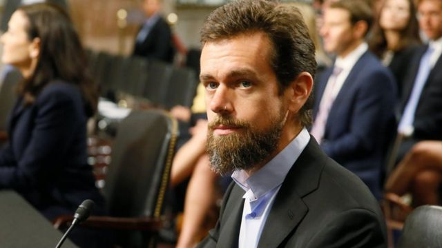 Twitter chief executive Jack Dorsey