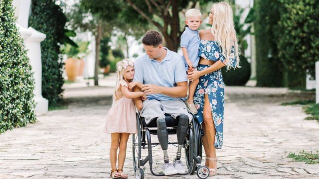 Brian Kolfage and family