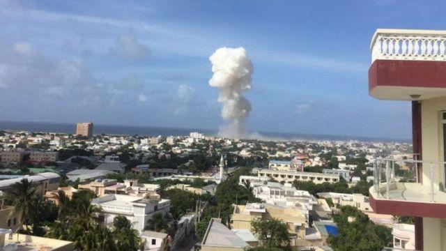 Uwanja wa ndege washambuliwa Mogadishu