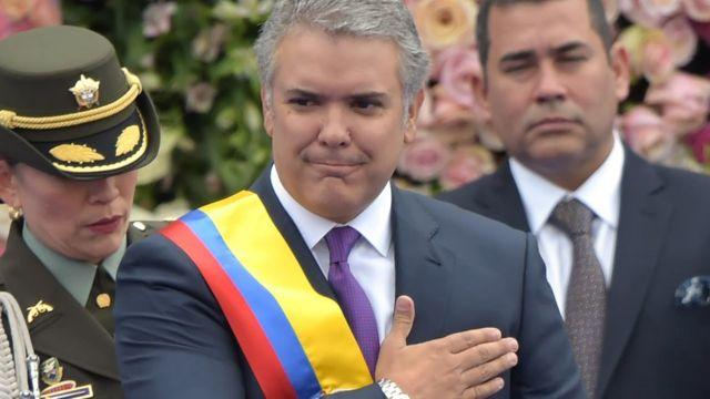 Paro en Colombia: Iván Duque, un presidente en la encrucijada - BBC News  Mundo