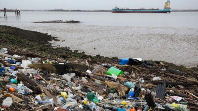 laut, plastik