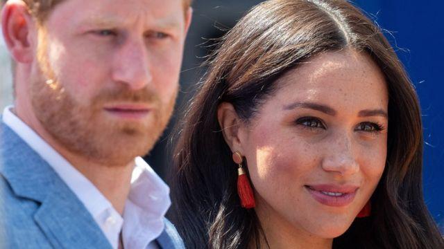 Harry e Meghan em viagem na África do Sul