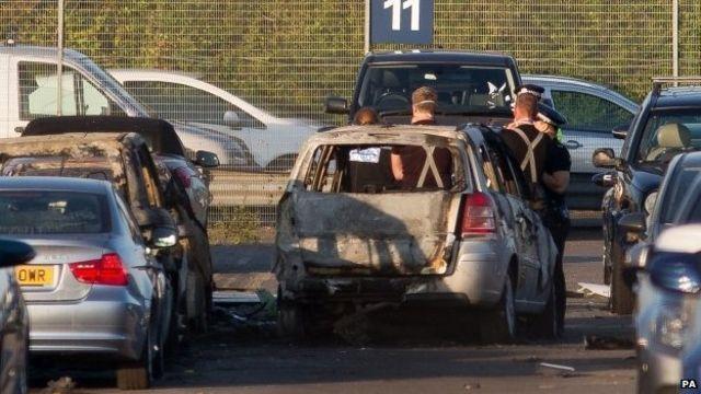 Bin Laden family on Blackbushe Airport crash plane