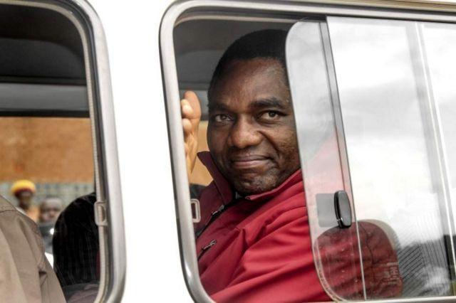 Hakainde Hichilema alikamatwa baada ya msafara wake kukataa kuupisha ule wa rais
