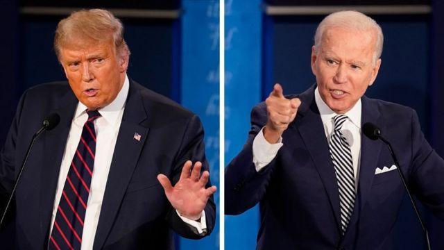 Madaxweyne Trump iyo Joe Biden