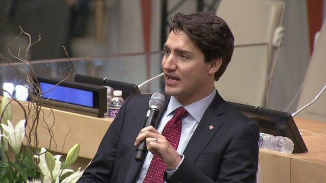 Canadian Prime Minister, Justin Trudeau