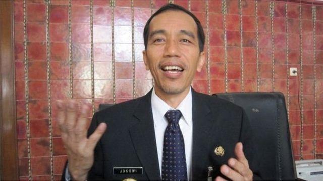 Joko Widodo saat menjadi Wali Kota Solo pada tahun 2011.