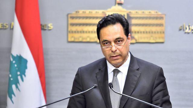 Hasan Diab, primer ministro de Líbano