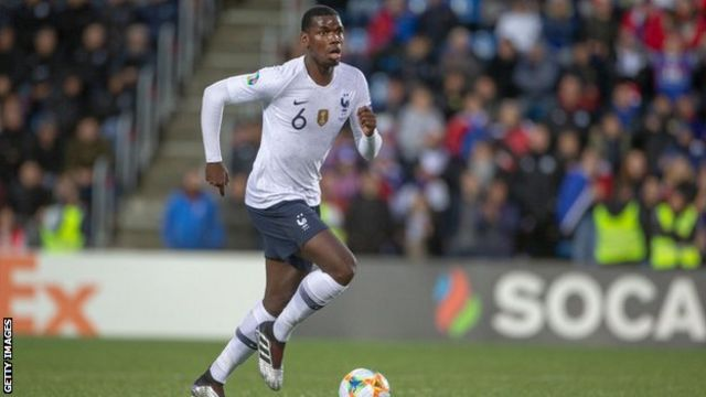 Paul Pogba tests positive for coronavirus