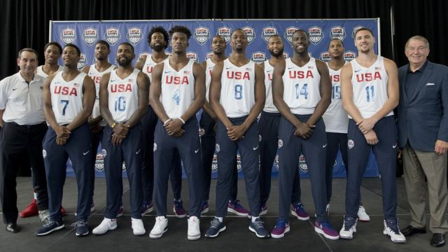 Ao contrário da maioria dos atletas, jogadores do USA Basketball não ficarão na Vila de Atletas