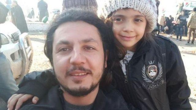 الطفلة السورية بانا العابد غادرت حلب مع من تم إجلاؤهم عن المدينة