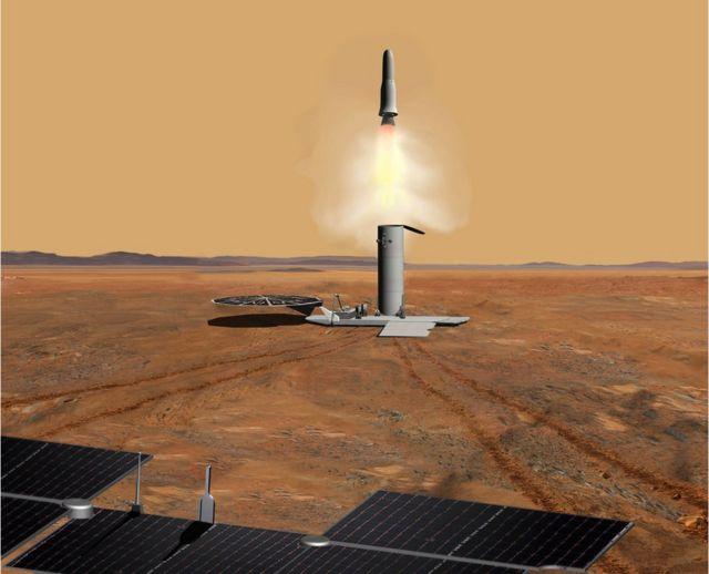 Mars sample return