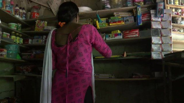 """Anisa"", an Indian woman who was trafficked into sex slavery but managed to escape"