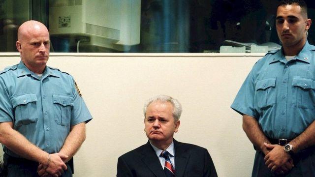 Slobodan Milošević u Hagu